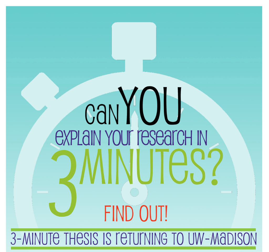 3MT (Three Minute Thesis)