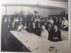 The first meeting of SDE-GWIS Beta Chapter, Madison, Wisconsin, 1922.